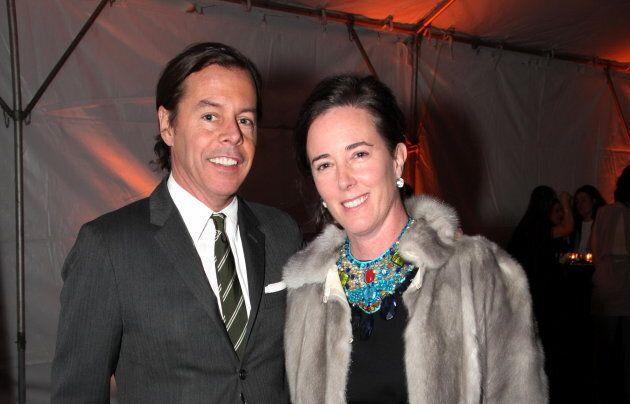 Andy et Kate Spade en 2009