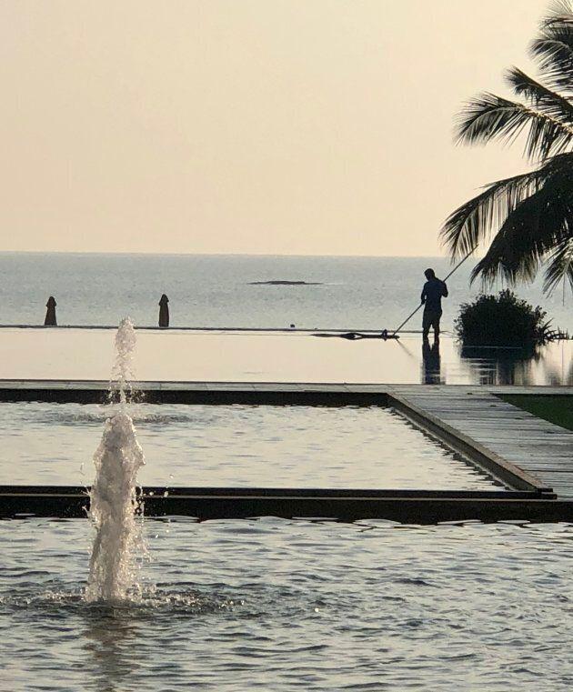 Piscine de l'hôtel UGA Bay
