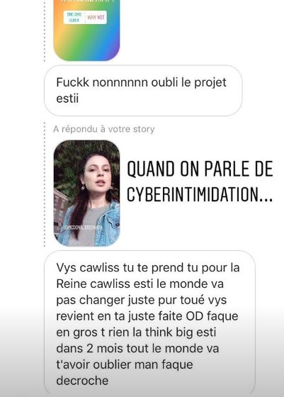 Karine d'«Occupation Double Bali» poursuit sa lutte contre la