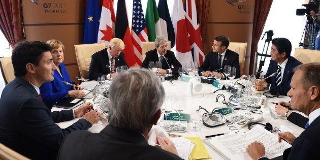 La question à 1000$ : le G7, ça sert à