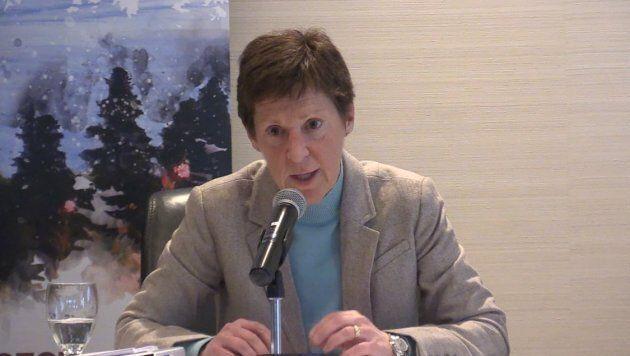 Louise Léger, directrice générale du Bureau de gestion des sommets d'Affaires mondiales Canada.