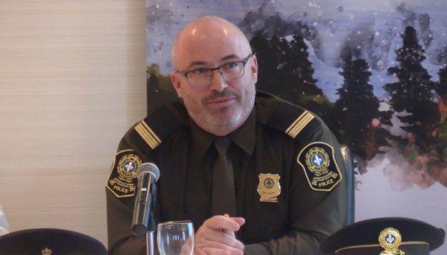 Jason Allard, porte-parole de la Sûreté du