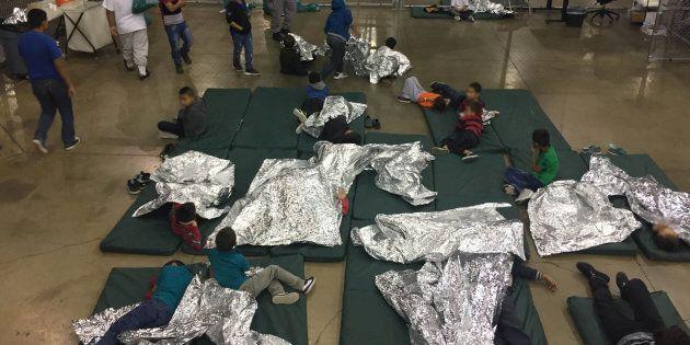 Un refuge d'enfants migrants à Rio Grande