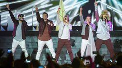 Les Backstreet Boys sont...