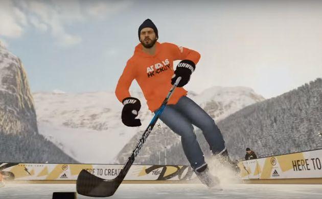 Vous pourrez personnaliser votre joueur lorsque vous disputerez des matchs sur des patinoires
