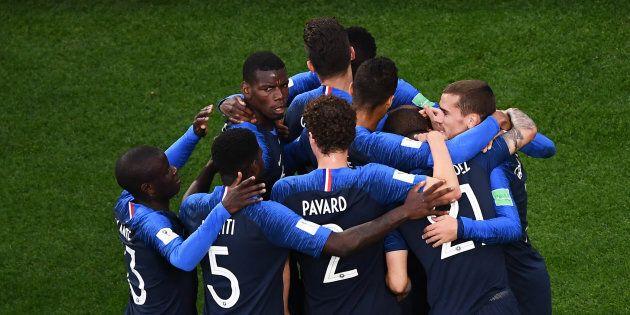 La France l'a emporté grâce à un but Kylian Mbappé en première
