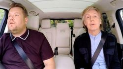 Un «Carpool Karaoke» empreint d'émotions pour Paul