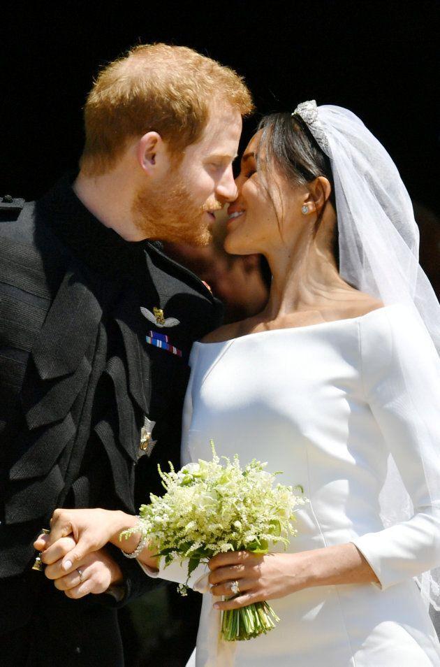 Voici les images du baiser de Meghan Markle et du prince