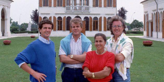 Carlo, Gilberto, Giuliana et Luciano