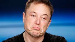 Elon Musk traite un sauveteur de