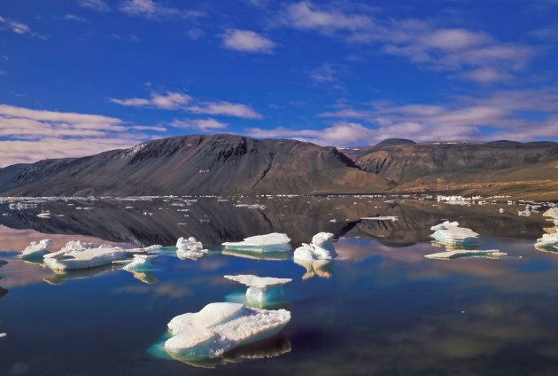 Photo d'archives du parc national Quttinirpaaq sur l'île d'Ellesmere au
