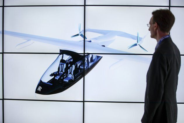 Rolls-Royce présente son «taxi volant» hybride à