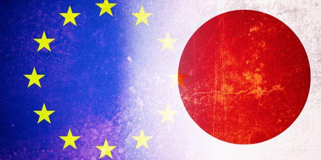 L'Union européenne et le Japon signent un vaste pacte