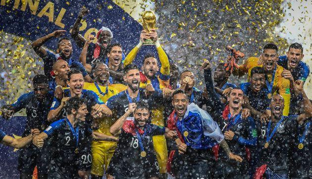 Sur les 23 joueurs de la formation française, 14 d'entre eux avaient des origines
