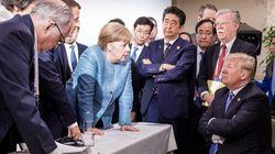 La photo «emblématique» du G7 fait