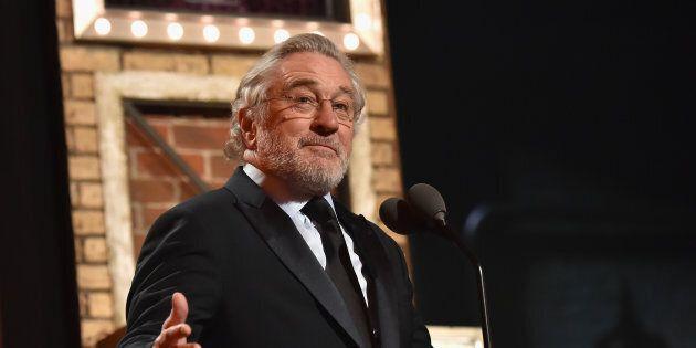 Robert De Niro s'excuse auprès des Canadiens pour les récents commentaires de Donald