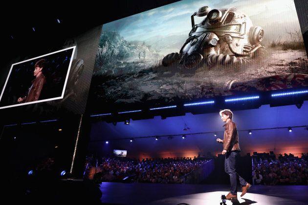 Todd Howard, directeur et producteur exécutif de Bethesda Game Studios, lors du dévoilement de «Fallout...