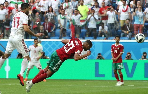 L'Iran l'emporte contre le Maroc à la Coupe du monde 2018 de