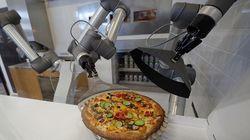 Ce robot fait de la meilleure pizza que