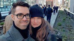 Mariage intime pour India Desjardins et Olivier