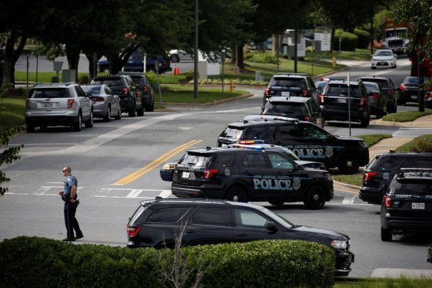 Une fusillade éclate dans le journal «Capital Gazette» à Annapolis dans le
