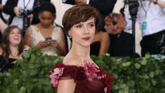 Scarlett Johansson en mai 2018 lors d'un gala de