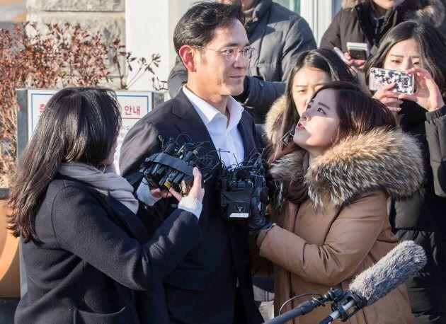 Lee Jae-yong a été condamné à deux ans et demi de