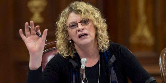 Michelle Blanc, une «porte-parole» qui a sa propre