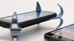 Découvrez ce nouvel accessoire qui protège votre téléphone lors d'une