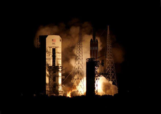 Le lancement de la sonde Parker a eu lieu aux petites heures du matin,