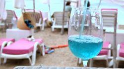 Vin bleu : innovation ou tendance