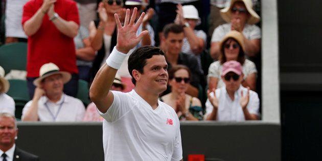 Tennis: Milos Raonic avance au troisième tour à
