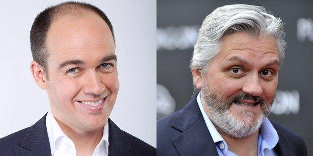 Guy Nantel et Richard Martineau réagissent vivement à l'annulation de