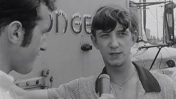 En juillet 1968, il faisait chaud et Bernard Derome était sur le terrain pour vous le