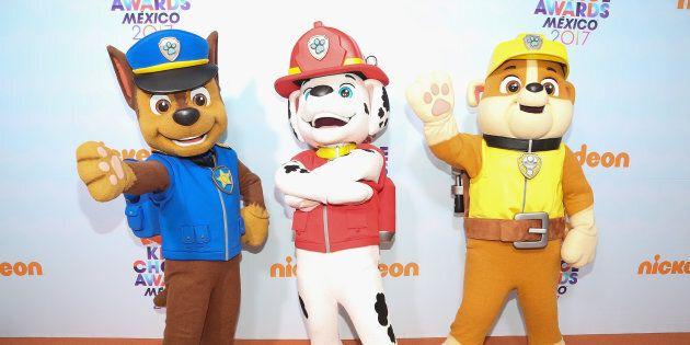 Chase, Marcus et Ruben de la «Pat'Patrouille» feront-ils des acrobaties pendant leur spectacle maintenant?
