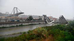 Un pont s'écroule en Italie, au moins 30