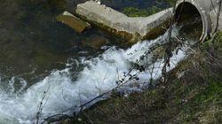 1000 milliards de litres d'eaux usées déversés entre 2013 et