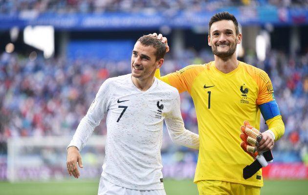 Antoine Griezmann et Hugo Lloris, les deux vedettes de la France dans ce