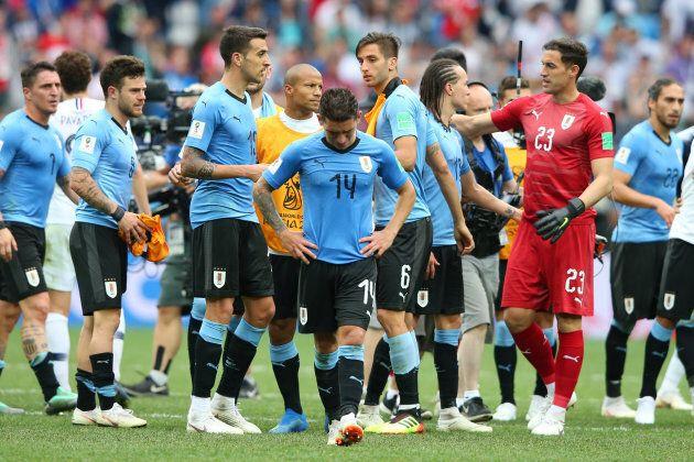 L'Uruguay n'a pas pu réaliser le même exploit que lors de son dernier match face au