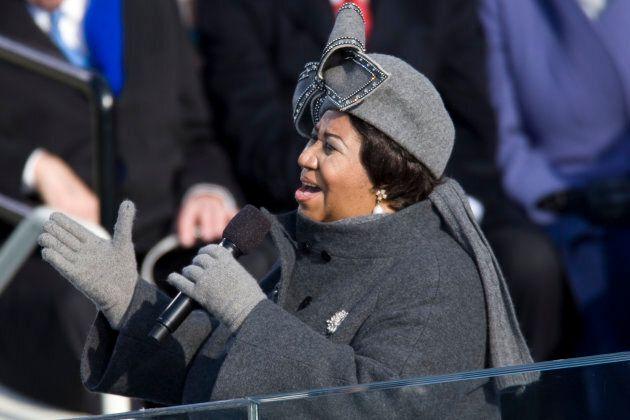 La chanteuse Aretha Franklin est