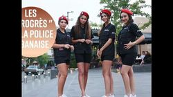 Des policières en short court : progrès ou ruse