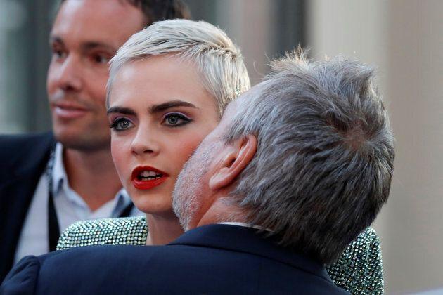 Cara Delevigne a tenu la vedette dans le plus récent blockbuster de Luc Besson, «Valerian»