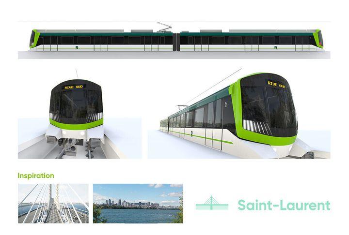 Le design Saint-Laurent