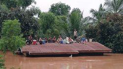Des centaines de personnes disparues après l'effondrement d'un barrage au