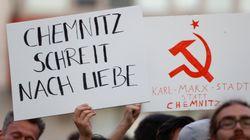 L'extrême droite allemande dans la rue contre