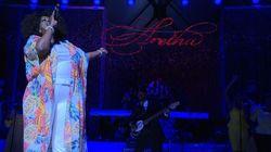 Le concert en hommage à Aretha Franklin fait chavirer d'émotion des milliers de