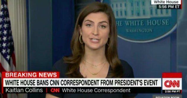 Les critiques fusent après que la Maison-Blanche a refusé l'accès à une journaliste de
