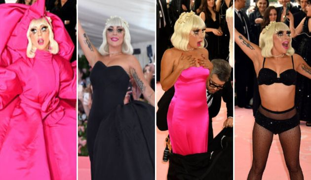 Lady Gaga in her various incarnations at the 2019 Met