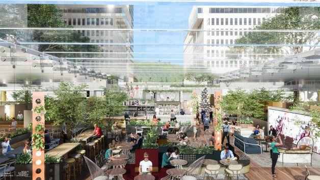 Un giga biergarten à ciel ouvert ouvrira au centre-ville de