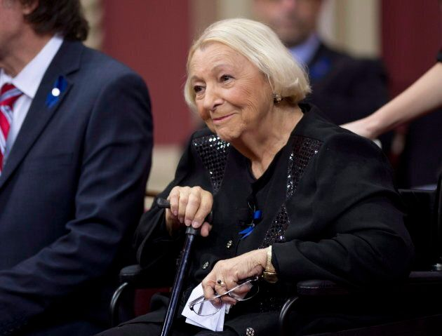 Lise Payette reçoit le Prix du Québec, 4 novembre